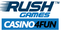 Free Slots, Blackjack & Live Dealer Games @ Casino4Fun by Rush Games | RushGames.com secondary logo